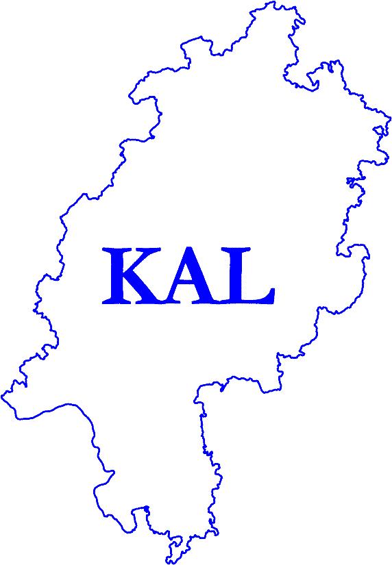 Logo KAL weiß-blau